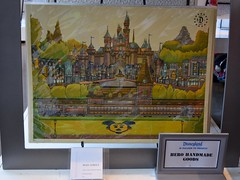 Disneyland Visit - 2016-08-28 - Downtown Disney - WonderGround Gallery - Main Street by Hero Handmade Goods (drj1828) Tags: us disneyland dlr 2016 visit downtowndisney dtd wondergroundgallery artwork art