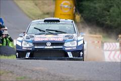 VW Polo R WRC - Ogier/Ingrassia - WP9 Arena Panzerplatte - Rallye Deutschland 2016 (eschborn.photography) Tags: eschborn eschbornphotography wochenende super fun car rally dirt gravel asphalt tarmac round season world championship sideways gras track corner kurve driver wrc nikon d7100 28