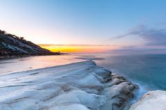 Famous limestone cliffs at agrigento (AndiZ275) Tags: famous white marl cliffs agrigento italy europe sicily turkishsteps steps turkish south amazing unique water landscape breathtaking rock rockformation