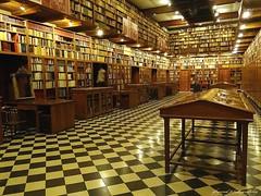 Peralada Castle Library, Peralada, Catalunya (jackfre 2) Tags: catalunya spain peralada library books firstedtions ancient castlelibrary