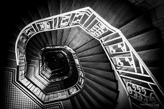 pull In (Ivan Peki - www.ivanpekic.com) Tags: spiral fibonacci rule perspective graphic stairs golden down up