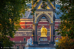 Through the Trees (James Neeley) Tags: london hydepark royalalberthall albertmemorial jamesneeley
