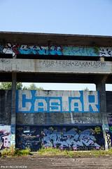 Urbex Ruisbroek (Red Cathedral uses albums) Tags: sony a6000 sonyalpha mirrorless streetart graffiti alpha contemporaryart urbex belgium urbanart oostkaai brussel bruxelles brussels trespass ruisbroek anderlecht castar blue blauw