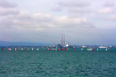 Generating Power (Costigano) Tags: poolbeg dublin ireland irish dublinbay sailing sailboats water