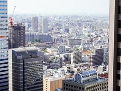 Nishi Shinjuku (Dick Thomas Johnson) Tags: japan tokyo shinjuku    nishishinjuku      buildings skyscraper  architecture structure