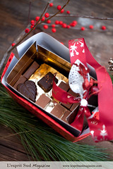 Puyricard Chocolate Box - Holidays 2012 (L'esprit Sud Magazine) Tags: travel france french chocolate traditional gourmet workshop provence artisans luxury francais atelier chocolaterie chocolats puyricard finechocolate savoirfaire lespritsudmagazine maitreschocolatiers highendchocolate chocolateriedepuyricard artisanschocolates