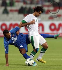 Kuwait - Saudi Arabia .. (FaisaL HamadaH) Tags: cup bahrain football gulf soccer saudi arabia match kuwait arabian between  the in         2013