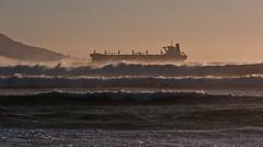 STORM (EXPLORE) (CUMBUGO) Tags: ocean africa leica sea storm clouds boat town sundown wind cloudy south wave rangefinder m8 cape elmar 135mm f40 atlantik