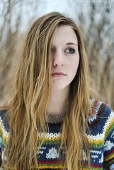 (Kelsey Garcia) Tags: blue girls portrait people hair sweater eyes long blond select