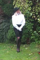 Victorian Blouse (teriteri56) Tags: white black stockings leather tv lace cd pussy victorian skirt dressing blouse tgirl transgender gloves sissy bow tranny transvestite georgian satin crossdresser gurl poof frilly shemale ruffle frill pussybow