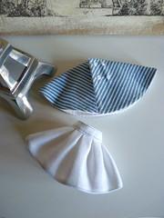 Conjunto falda y capa para Blythe