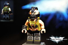 LEGO The Dark Knight Rises : Bane (MGF Customs/Reviews) Tags: tom dark anne lego nolan bat christian batman knight gotham bale bane catwoman hathaway rises trilogy hardy the