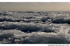 kruiend ijs urk 4 (raymondklaassen) Tags: winter flevoland ijsselmeer januari urk ijs vorst dooi kruiendijs ijsvlakte