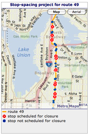 Metro planning to eliminate more Capitol Hill bus stops to ... on seattle ferry parking map, seattle i 5 map, seattle seatac airport terminal map, seattle king county map, seattle monorail route map, seattle streetcar route map, seattle population density map, seattle rail map, houston metro lines map, seattle metro city map, seattle subway system map, king metro bus map, seattle transit map, seattle eastside map bellevue, seattle washington map, seattle metro route 75, houston metro bus map, seattle underground bus tunnel, alaskan way seattle map,