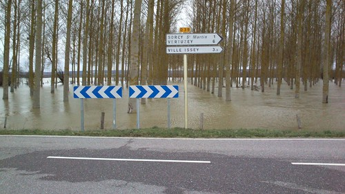 A la sortie de Sorcy-Saint-Martin, direction Commercy