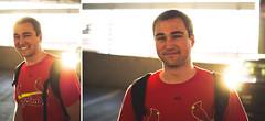Eric (Jon Medina) Tags: sun guy 50mm friend eric flat baseball sony garage dude suppy bro alpha 18 a35 suppiest