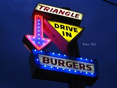 Explore #229 - Triangle Drive-In Burgers since 1963 the best Burgers in Fresno.  (  East view  ) (Bob the Real Deal) Tags: california diner coke hamburgers fries fresno the60s greatburgers canonsd850 triangledriveinburgers bestburgersinfresno