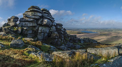 Stones ~ Explored (intrazome) Tags: morning travel light panorama cloud nature beautiful weather landscape nikon cornwall panoramic moor cloudscape moorland bodminmoor bodmin d5100