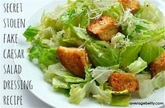 SECRET STOLEN FAKE - Caesar Salad Dressing Recipe (averagebetty) Tags: family black recipe pepper restaurant salad video vegan secret fake caesar dressing stolen parmesan croutons topsecret averagebetty saraodonnell
