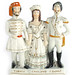 315. Large 19th Century Staffordshire Figural Group