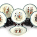 293. Set of 6 Choisy LeRoy Plates