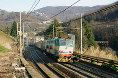 Trenitalia E655 405 (Transport Pictures) Tags: railroad italy train rail railway locomotive treno trenitalia ferrovia locomotiva caimano e655