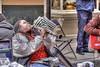 Portrait:  Doreen Ketchens Wails (Adventure George) Tags: urban music usa fall french louisiana unitedstates neworleans jazz quarter doreen clarinet jazzband royalstreet streetband urbanscene neworleansarea hdraddicted nikond700 photogeorge hdrterrorist hdrphotomatixpro doreenketchens doreensjazzneworleansband clarinetqueen