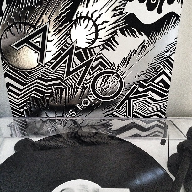 Atoms For Peace - Amok - #nowspinning #vinyl