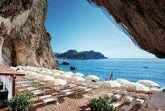 Hotel Capotaormina (Luigi Strano) Tags: italy beach europa europe italia sicily taormina spiaggia sicilia messina sicile sizilien     atahotelcapotaormina