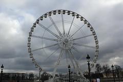 Observation wheel (Xenia Varelas) Tags: paris france louvre toureiffel gallerieslafayette obelisque arcedetriomphe augusterodin camilleclaudel