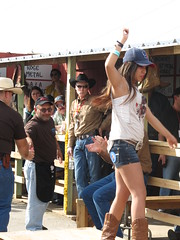 IMG_7912 (grooverman) Tags: park blue cold canon river texas legs boots butt contest cook houston bbq off powershot jeans booty rodeo barbeque cowgirl miss barbque cookoff reliant 2013 sx130