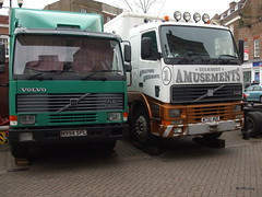 Volvo (mickyman13) Tags: volvo fuji fair vehicles lorry volvofh12 volvof10 alltypesoftransport finepixa900 finepixa900fuji stardustamusements volvofl10intercooler