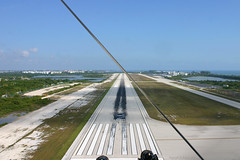 Landing at Key West airport - Florida (Andrew_Simpson) Tags: trees sea usa lake tree nature water america pond florida lakes landing american arrive land fl keywest arrival approach runway floridakeys arriving finalapproach eyw keywestflorida thefloridakeys thekeys keywestairport keyw keywestinternationalairport keywestinternational