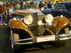 20121110 Lyon Rhône - Epoqu'auto - Mercedes Benz 500K -(1934-36)- (anhndee) Tags: france mercedes lyon rhône classiccars rhonealpes voituresanciennes epoqauto