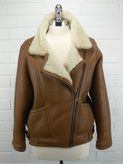 "1980s Sheepskin Aviator Jacket • <a style=""font-size:0.8em;"" href=""http://www.flickr.com/photos/92035948@N03/8548628735/"" target=""_blank"">View on Flickr</a>"