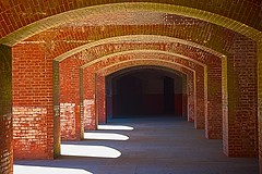 Arches of Light No 2 (Charlie Day DaytimeStudios) Tags: sanfrancisco california ca architecture nationalpark goldengate fortpoint sanfranciscoca goldgatenationalpark
