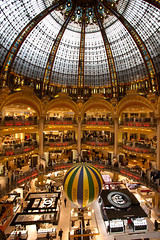 Galleries Lafayette, Paris (Nick Young Photos) Tags: paris france shop mall shopping store lafayette galleries dome shops department