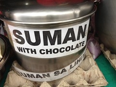 Suman with Chocolate (ohmybuhay) Tags: chocolate suman