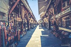 Outdoor Bazaar (Sunpanther) Tags: turkey asia europe honeymoon market outdoor istanbul bazaar