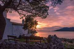 When the day ends (Vagelis Pikoulas) Tags: blue trees light sunset sea sky sun mountain mountains west colour reflection tree green beach rock clouds canon landscape eos spring kiss rocks europe niceshot view greece porto western 1855mm x4 attiki germeno 2013 550d abigfave colorphotoaward mygearandme kithairwnas mygearandmepremium mygearandmebronze mygearandmesilver mygearandmegold mygearandmeplatinum ringexcellence tplringexcellence musictomyeyeslevel1