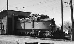 Milwaukee Road E78 (R R Horne) Tags: railroad electric montana railway harlowton fav10 milwaukeeroad littlejoe e78