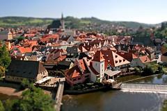 esk krumlov (art-dara) Tags: town miniature europe cityscape view czech roofs czechrepublic oldtown vltava dara cityview tiltshift eskkrumlov       southbohemian     darapilugina darapilyugina