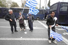 (spirofoto) Tags: holiday greek riot europe day flag protest athens flags greece national 25 pakistani independence riots junta crisis 2013 25march   spirofoto