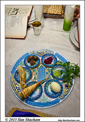 Passover Seder table (Ilan Shacham) Tags: holiday table israel religion plate meal jewish tradition passover pesach modiin matza seder   hagada