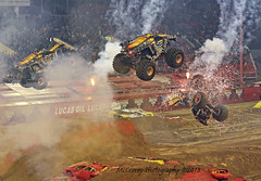 Maximum Destruction Monster Truck Double Backflip (marzipan bunny) Tags: world las vegas max monster d destruction finals jam maximum