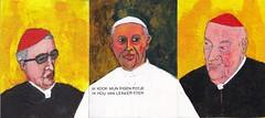 drieluik (h e r m a n) Tags: pope rome roma art painting triptych cardinal kunst schilderij herman paus 2223 rk 2224 drieluik triptiek kardinaal 2220