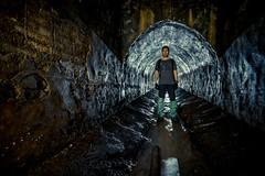 (pablo_martin) Tags: ukraine kiev kiew underground urban exploration fuji xt1 12mm samyang drain system nikolskay nikolskaya urbex flashlight light tunnel pose joker boots water sewer dark dirty