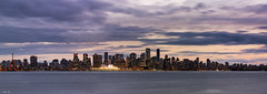 Vancouver And Whistler Trip 01 II - 23-Apr-2016 to 08-May-2016 (--) Tags: vancouver skyline stanley park british columbia bc north pier sunset clouds night cityscape alpa 12 max rodenstock hr hrsw 90mm f56 phase one p45 medium format digital canada lights dusk outdoor sky cloud