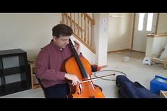 Practicing (Ryner12) Tags: jonas cello instrument chaska video music