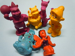Vintage Walt Disney Characters Erasers (My Sweet 80s) Tags: disneycharacters 1982 bully madeingermany waltdisneyproductions anni50 anni60 50s 60s winniethepooh tigro cucciolo tinkerbell campanellino jimmythepig gimmythepig treporcellini threelittlepigs dopey simplet settenani sevendwarfs erasers vintageerasers 80serasers eraser gomma gomme gommadacollezione gommine vintage 80s anni80 vintagestationary tigger
